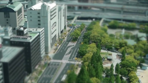 Tilt-Shift Kobe City